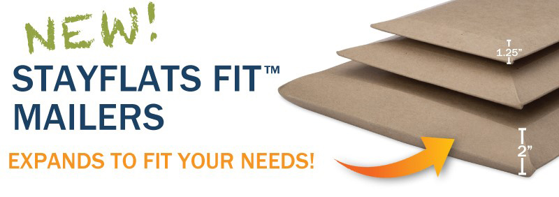 new stayflat fit mailer