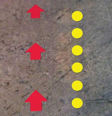 dots & arrow Vinyl tape